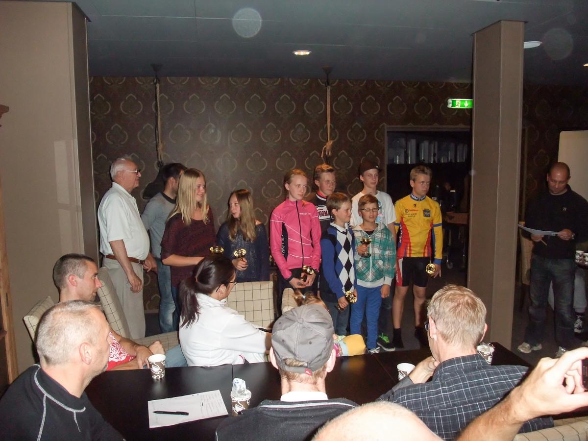 Ungdomar som tog medalj i Gästrikecupen 2012